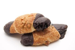 Gebaeck mit Schokolade