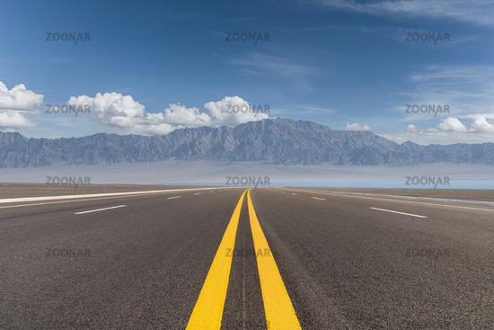 beautiful highway view