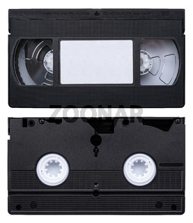 Isolated Video Cassette Tape