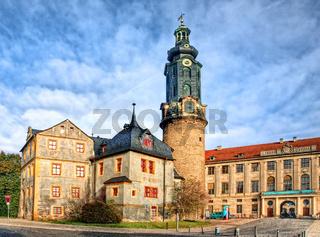 Das Schloss in Weimar