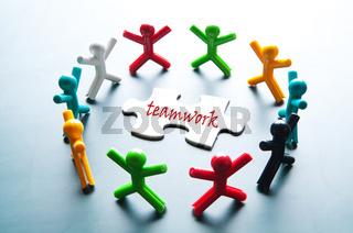 Teamwork for solve problem