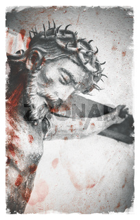 The suffering of Jesus Christ.