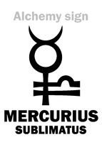 Alchemy: MERCURIUS SUBLIMATUS (Sublimate of Mercury / Sublime, Calomel)