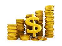 Dollar golden coins