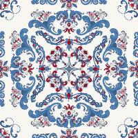 Rosemaling vector pattern 32.eps