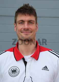 deutscher Handball-Torwart und DHB Nationalspieler Carsten Lichtlein vom TBV Lemgo Saison 2012-13