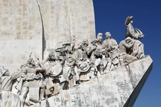 Denkmal für die Entdecker in Lissabon Portugal