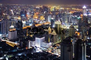 Bangkok Skyline night