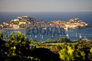 Ansicht Portoferraio auf Elba