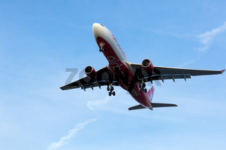 Air Berlin A330 beim Start