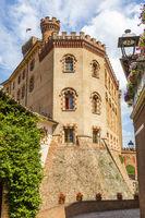 Barolo castle, Unesco site village - Italy