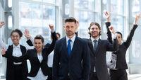 Business winners team