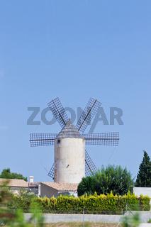 Windmühle in Spanien
