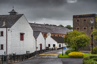 The Old Bushmills Distillery is a whiskey alcohol distillery in Northern Ireland
