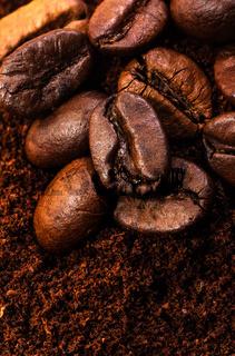 Kaffeemehl & Kaffeebohnen