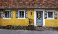 Fassade eines alten Hauses