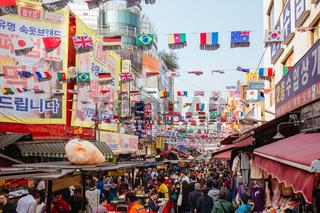 Nam Dae Mun Market in South Korea