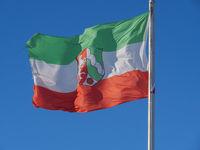 Fahne von NRW