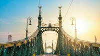 Metal Liberty Bridge