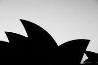 Sydney Opera House at Sunrise in Australia