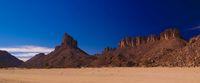 Bizzare rock formation at Essendilene, Tassili nAjjer national park, Algeria