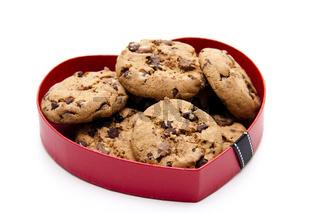 Kekse im Herz
