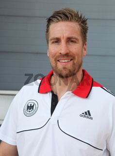 deutscher Handballer Oliver Roggisch Rhein-Neckar Löwen DHB HBL DKB-Handball-Bundesliga Sais 2012-13
