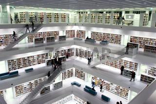 Bibliothek in Stuttgart