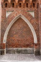 Gothic Arch Niche In Wall
