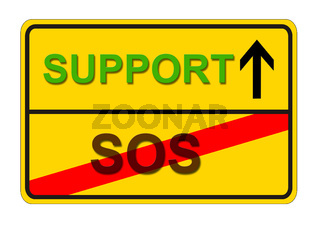 From SOS to Support