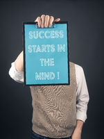 Success starts in the mind concept