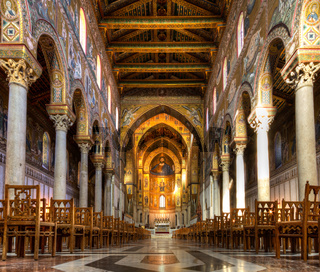 Nave of the Cathedral of Monreale