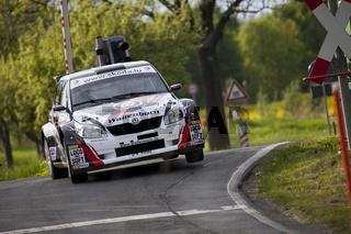Mark Wallenwein bei der AvD Sachsen Rallye 2012