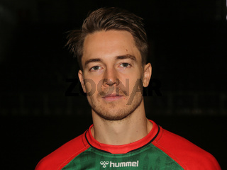 Michael Damgaard  SC Magdeburg HBL Liqui Moly Handball-Bundesliga Saison 2021-22
