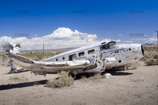 Abandoned Vintage Airplane