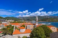 Old Town in Budva Montenegro