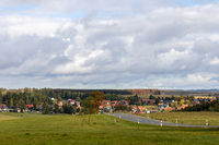 Harzlandschaft bei Beneckenstein Tanne Stadt Oberharz am Brocken
