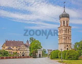 Schloss und Glockenturm Heiligenberg, Baden-Württemberg