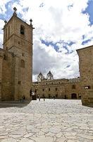 Das mittelalterliche Caceres in Spanien