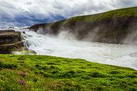 The rumbling waterfall