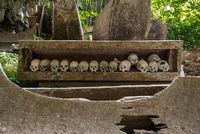 Die historische Begräbnisstätte von Lombok Parinding in Tana Toraja