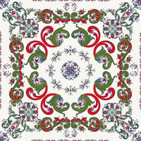 Rosemaling vector pattern 28.eps