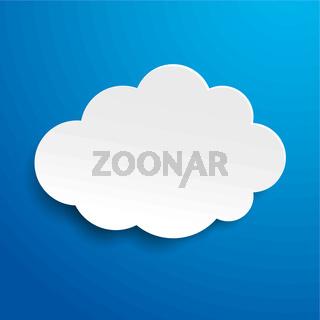 Cloud Blue Sky Label