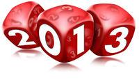Dice 2013 Happy New Year