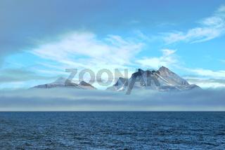 Berge an Grönlands Küste