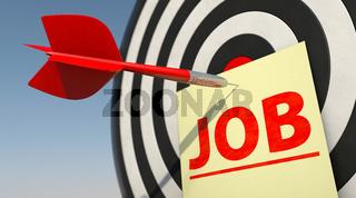 Job gefunden
