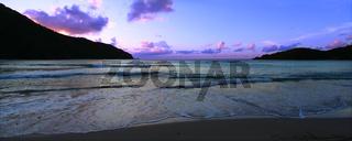 Tortola Panoramic Sunset