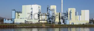 Innovatherm GmbH und Trianel Kohlekraftwerk am Datteln-Hamm-Kanal, Luenen, Ruhrgebiet, Nordrhein-Wes
