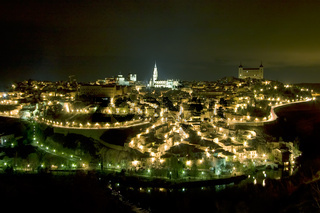 Toledo at night