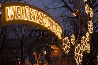 Weisser Zauber in Hamburg